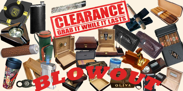 Cigar Accessories... 'Clearance Blowout'